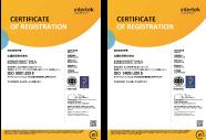 ISOの認定取得 ISO9001:2015 認定取得・ISO14001:2015 認定取得